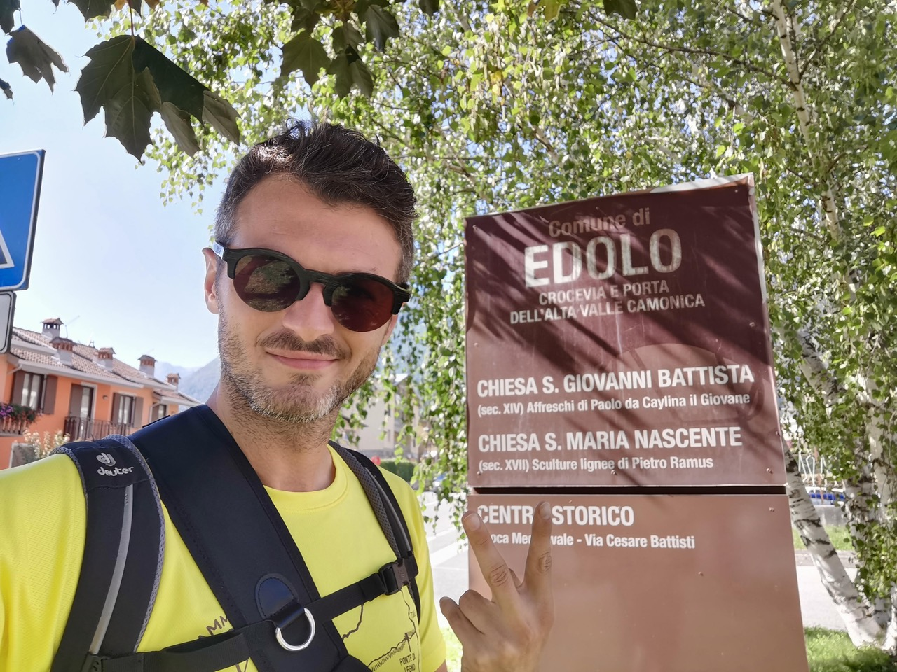 gio del bianco - cammino via valeriana - edolo